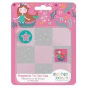 Magnetic Tic Tac Toe Set Mermaid